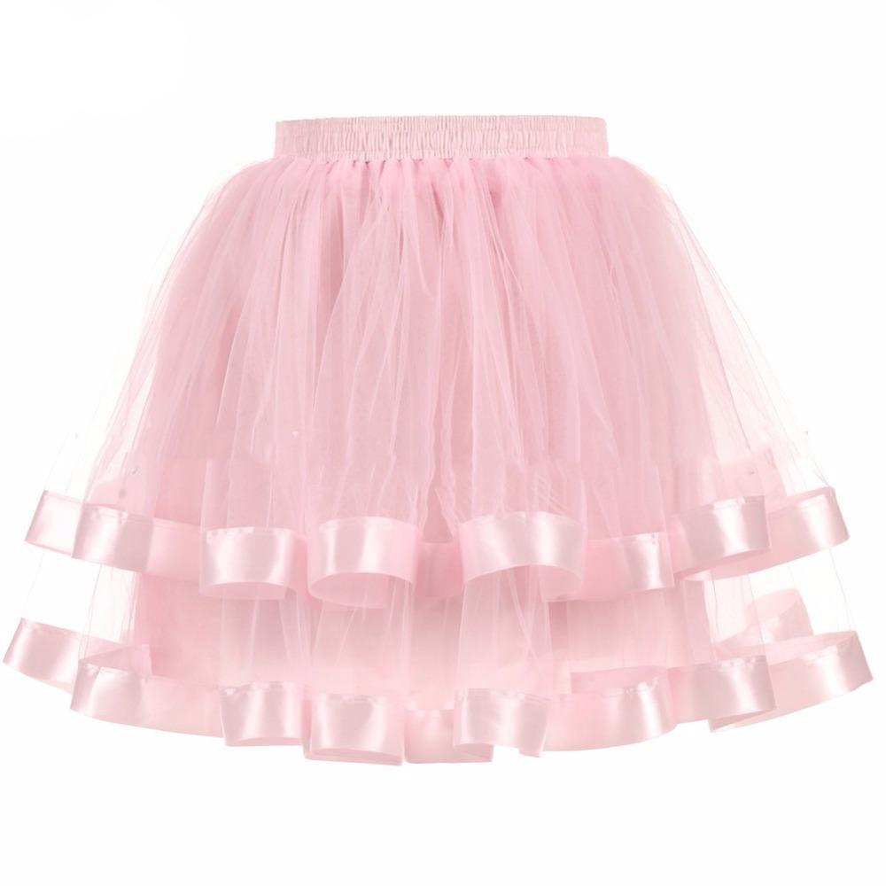Two-Layered Short Petticoat Sissy Panty Shop pink