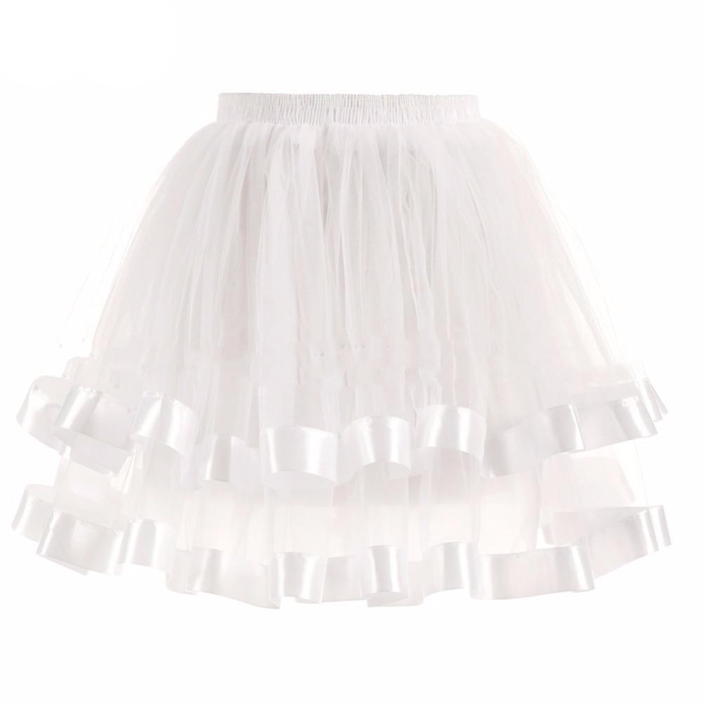 Two-Layered Short Petticoat Sissy Panty Shop ivory