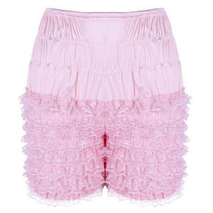Frilly Layered Bloomers Sissy Panty Shop Pink M