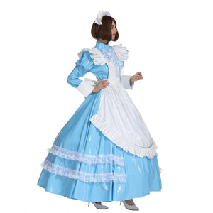 Lockable French Sissy Maid Dress Sissy Panty Shop