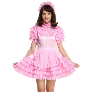 Lockable Sissy Maid Dress Sissy Panty Shop