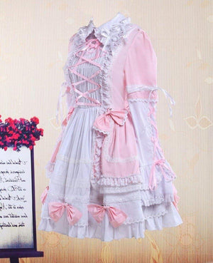 Lolita Bell Bottom Cotton Dress Sissy Panty Shop