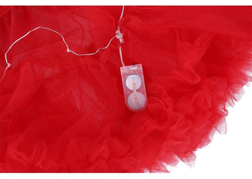 2 Layered Sissy Petticoat with Lights Sissy Panty Shop