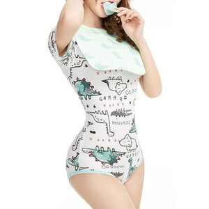 ABDL Snap Crotch Adult Baby Onesie Sissy Panty Shop S