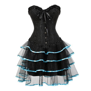 Evening Sissy Dress Sissy Panty Shop light blue S