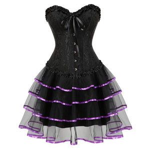 Evening Sissy Dress Sissy Panty Shop purple S