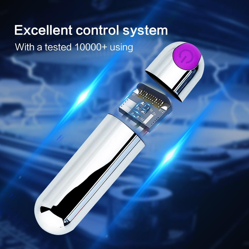 USB Rechargeable Mini Bullet 10 Speed Waterproof Sissy Clit Stimulator Sissy Panty Shop