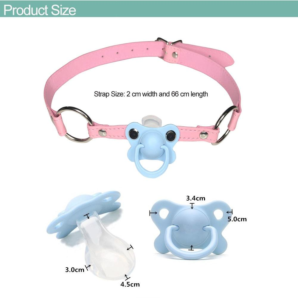 DDLG/ ABDL Choker Gag Pacifier Sissy Panty Shop