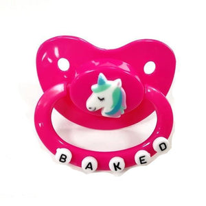Adult Baby Pacifier ABDL Sissy Panty Shop rose