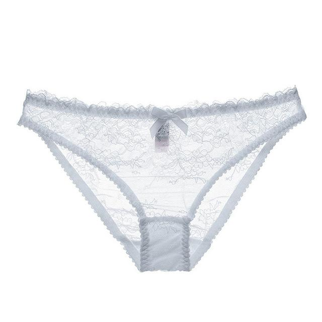 """Sissy Hailey"" Lace Panties Sissy Panty Shop White S"