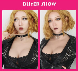 """Tranny Olivia"" Breast Forms Sissy Panty Shop"