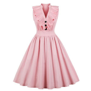 Retro Swing Dress Sissy Panty Shop S