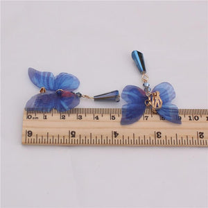 Butterfly Clip On Earrings