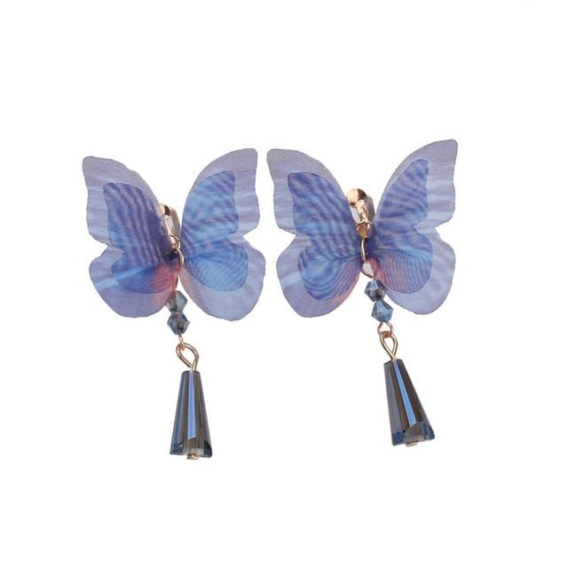 Butterfly Clip On Earrings Sissy Panty Shop Default Title