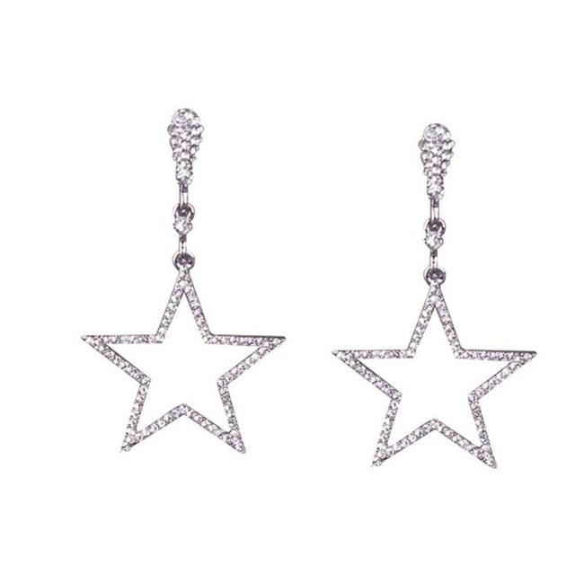 Star Moon Clip On Earrings Sissy Panty Shop Two Stars