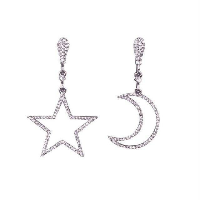 Star Moon Clip On Earrings Sissy Panty Shop Moon Star