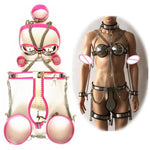 5 in 1 Stainless Steel Sissy Chastity Sissy Panty Shop