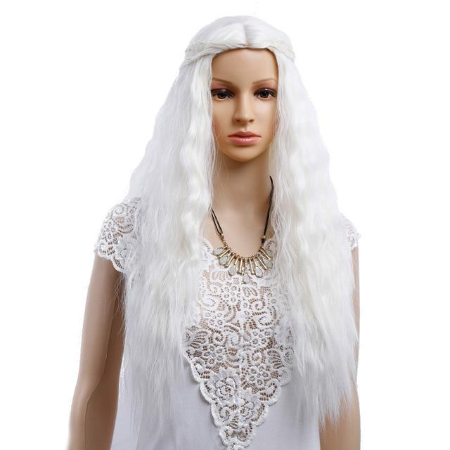 """Tranny Madison"" Wig Sissy Panty Shop Platinum Blonde 26 inches"