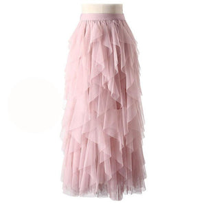 """Sissy Eva"" Tulle Skirt Sissy Panty Shop Pink One Size"