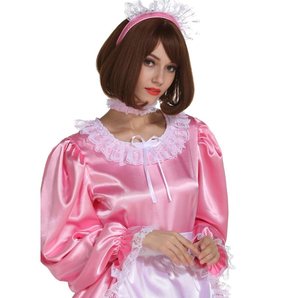 """Sissy Carol"" Long Maid Dress Sissy Panty Shop"