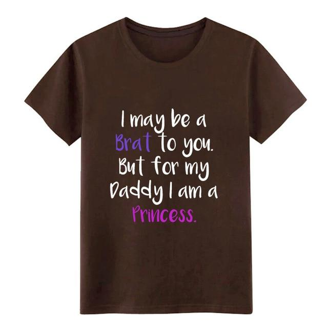 Little Ageplay BDSM DDLG Daddy T Shirt Sissy Panty Shop Chocolate S