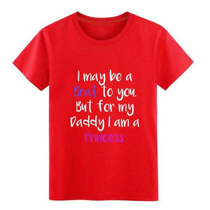 Little Ageplay BDSM DDLG Daddy T Shirt Sissy Panty Shop Red S
