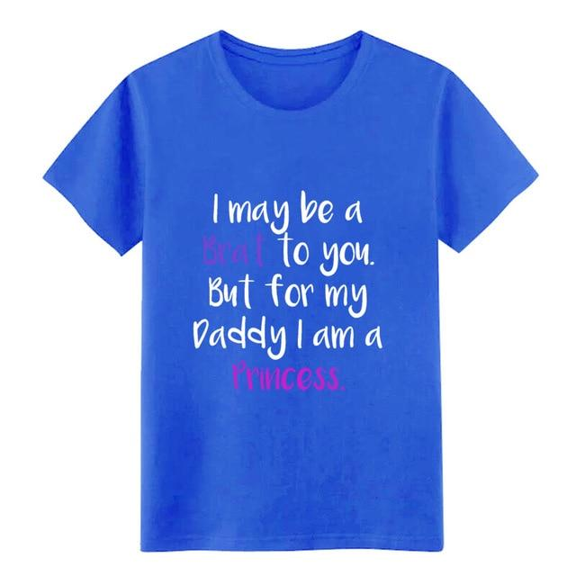 Little Ageplay BDSM DDLG Daddy T Shirt Sissy Panty Shop Royalblue S