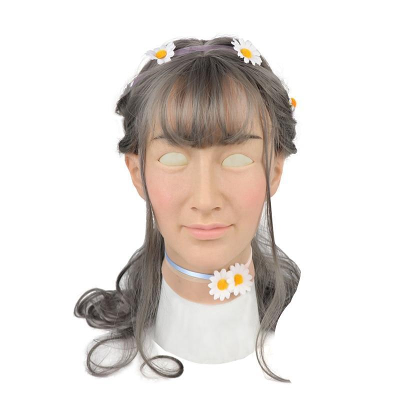 """Shemale Ria"" Crossdressing Mask"