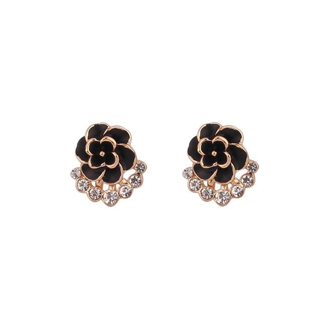 """Sissy Grace"" Flower Clip On Earrings Sissy Panty Shop B"