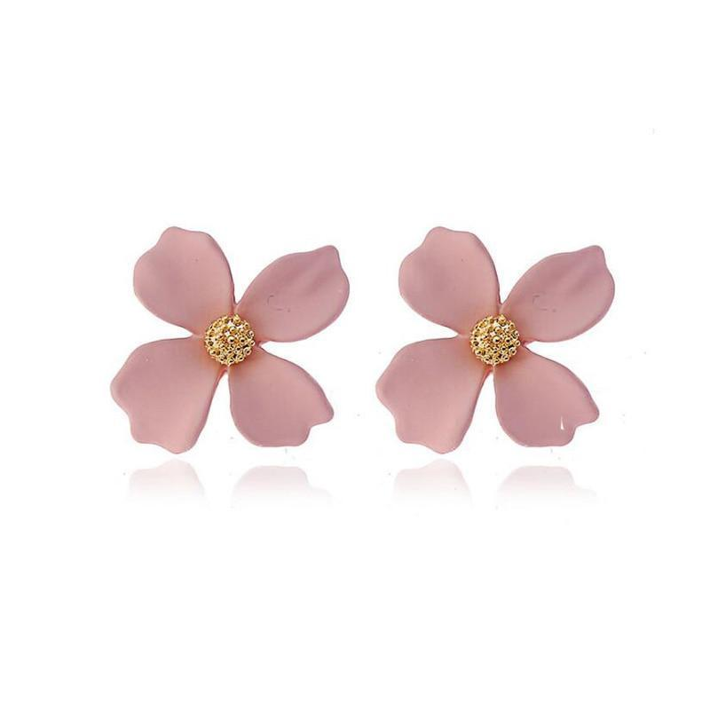 4 Leaf Clover Clip On Earrings Sissy Panty Shop Pink