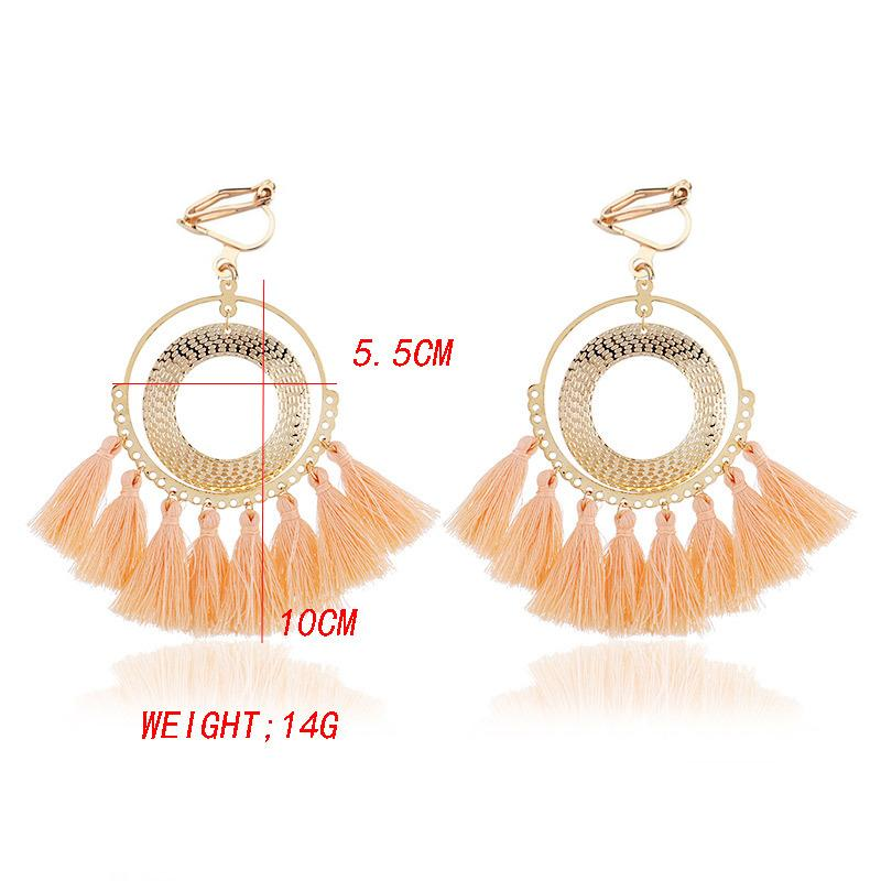 Boho Tassel Clip On Earrings Sissy Panty Shop