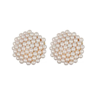 Faux Pearl Clip On Earrings Sissy Panty Shop