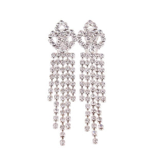"""Sissy Colleen"" Lux Crystal Clip On Earrings Sissy Panty Shop"