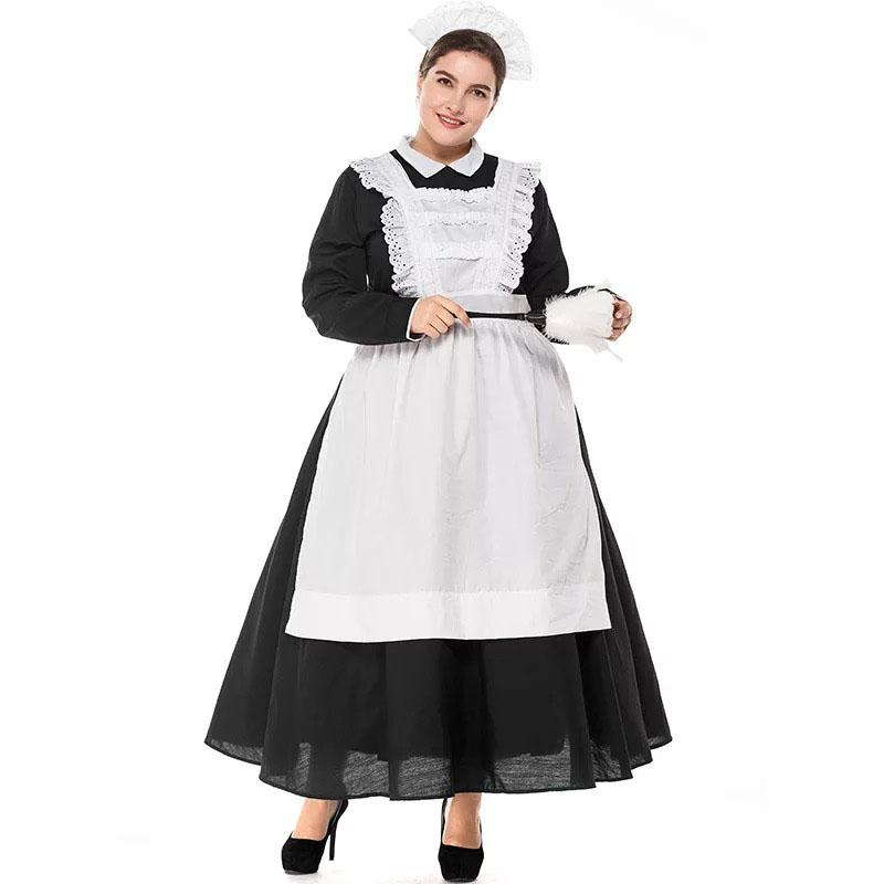 S-3X French Maid Costume Sissy Panty Shop