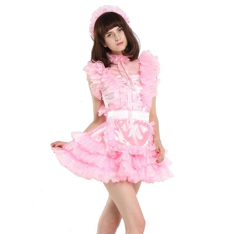Sleeveless Sissy Maid Dress Sissy Panty Shop