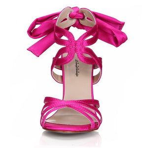 """Sissy Blanche"" Satin Sandals Sissy Panty Shop"