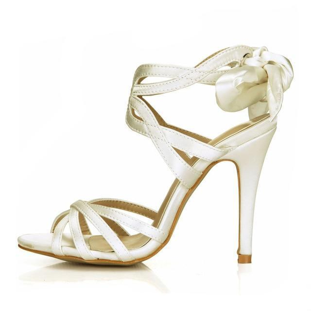 """Sissy Blanche"" Satin Sandals Sissy Panty Shop Beige 7"