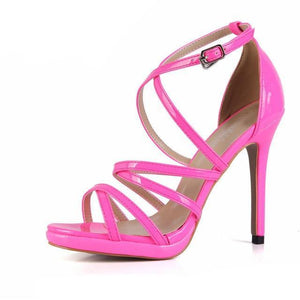 """Sissy Eleanor"" Sandals Sissy Panty Shop Pink 7"