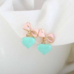 Sissy Bow-Knot Clip On Earrings Sissy Panty Shop