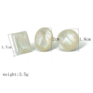 Pearlized Clip On Earrings Sissy Panty Shop