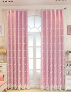 Pink Tulle Sissy Window Curtains Sissy Panty Shop pink 1PCS W150cm X H270cm Hook