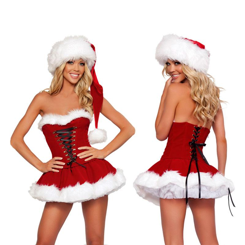 New Year Christmas Costume Sissy Panty Shop