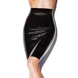 Latex Pencil Skirt Sissy Panty Shop black M