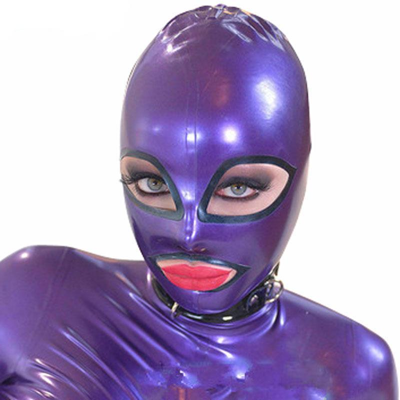 Latex Hood Mask with Back Zipper Sissy Panty Shop