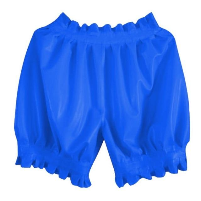 Latex Boxer Shorts Sissy Panty Shop Blue S