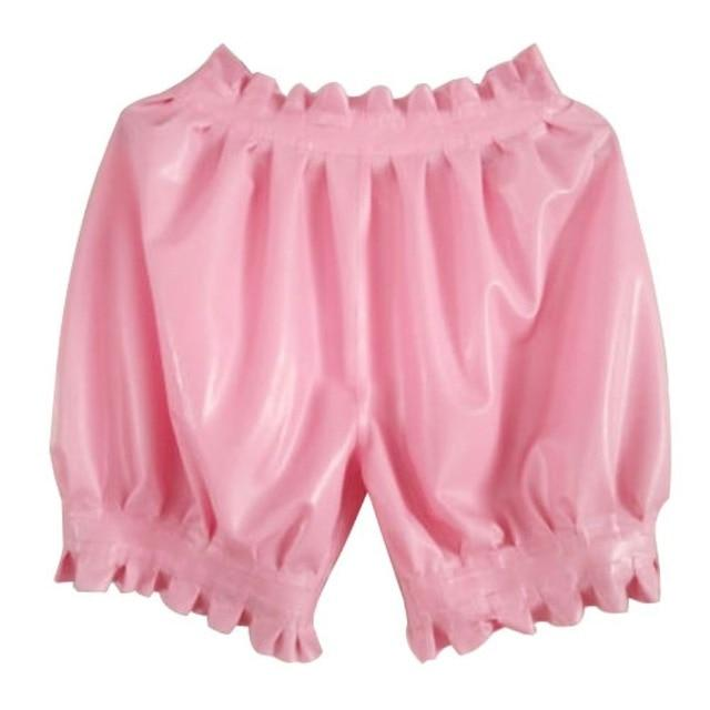 Latex Boxer Shorts Sissy Panty Shop Pink S