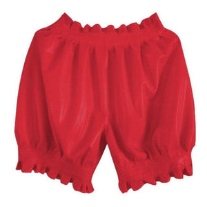 Latex Boxer Shorts Sissy Panty Shop Red S