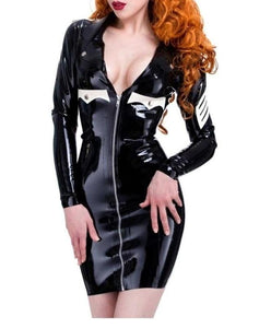 Latex Military Dress Sissy Panty Shop