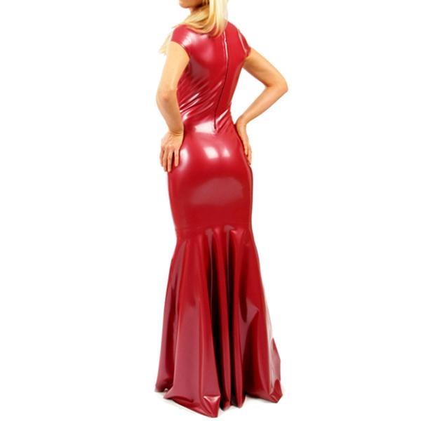 Tight Latex Gown Sissy Panty Shop