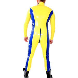 Latex Catsuit With Shoulder Zip Entry Sissy Panty Shop